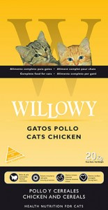 willowy chat poulet