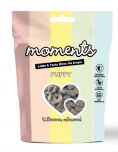 Moments Puppy Friandises saines pour chiots riches en protéines