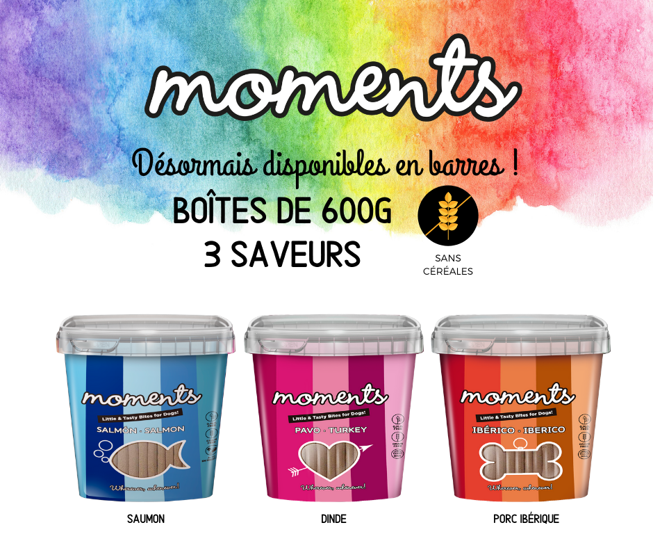 Moments barres snacks sains et naturels