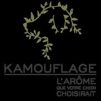 Logo Kamouflage Shampooing Kamouflage Parfum Kamouflage 100% naturel pour chiens